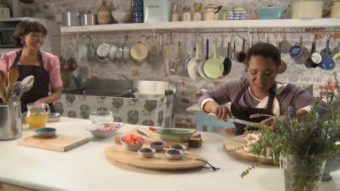Rebecca Malope Heats Up The Kitchen!