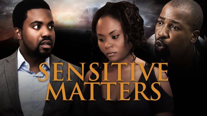 Sensitive Matters