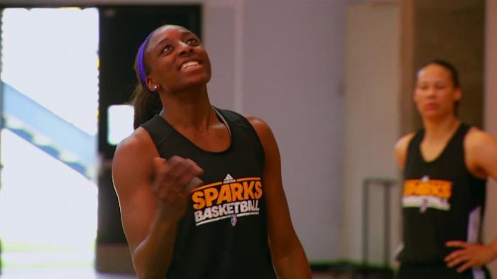 Exclusive! LA Sparks: Nicky & Nneka