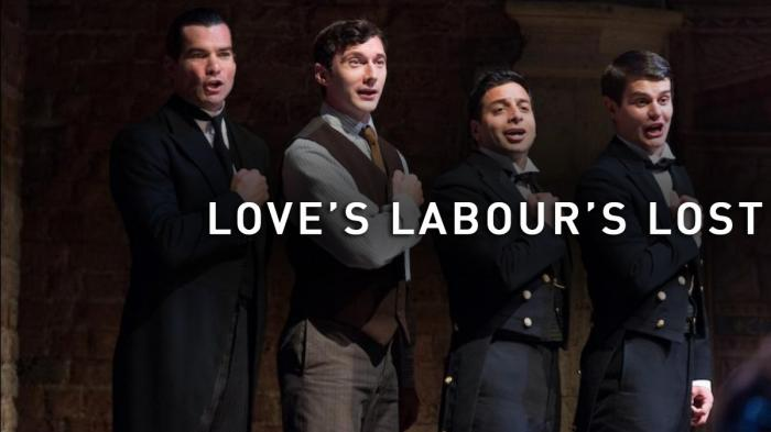 Image illustrating Love's Labour's Lost rental