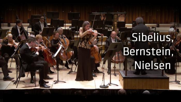 Sibelius, Bernstein, Nielsen