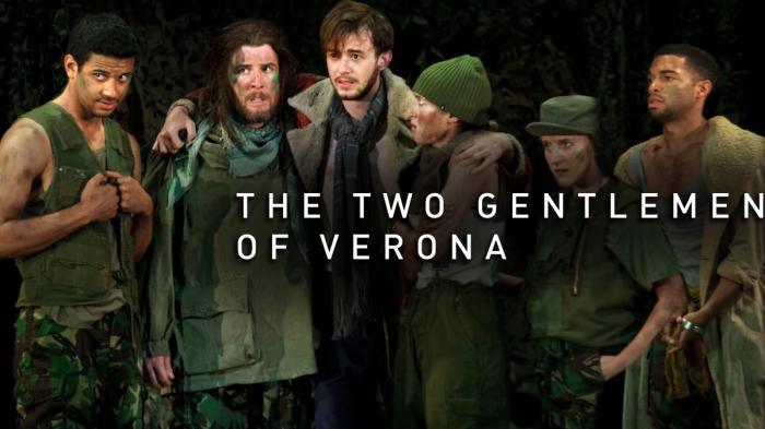 Image illustrating The Two Gentlemen of Verona rental