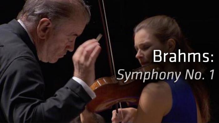 Image illustrating Brahms: Symphony No. 1 rental
