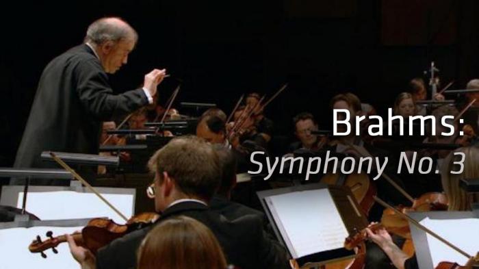 Image illustrating Brahms: Symphony No. 3 rental