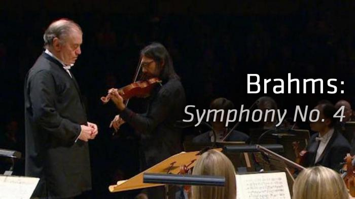 Image illustrating Brahms: Symphony No. 4 rental