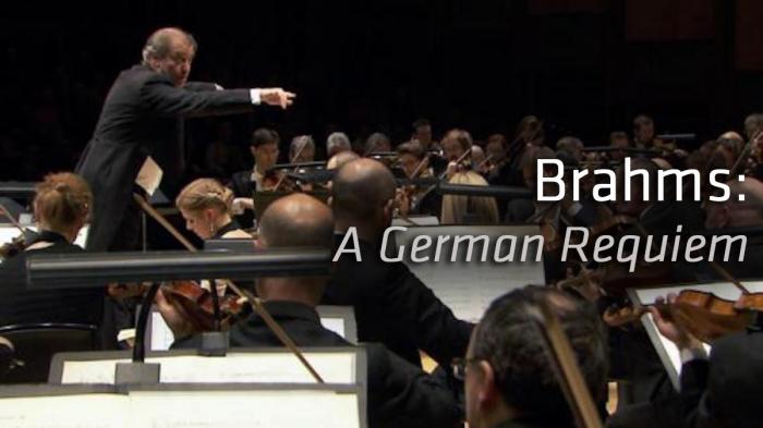 Image illustrating Brahms: German Requiem rental